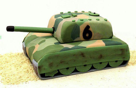 торт танк с мастикой