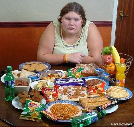 Если много съела что делать