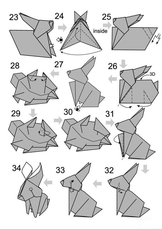 Как сделать из бумаги шиншиллу