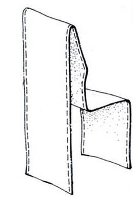 Чехол для стульев своими руками выкройки с фото