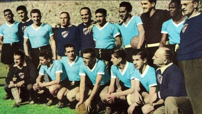 Сборная Уругвая 1950 год