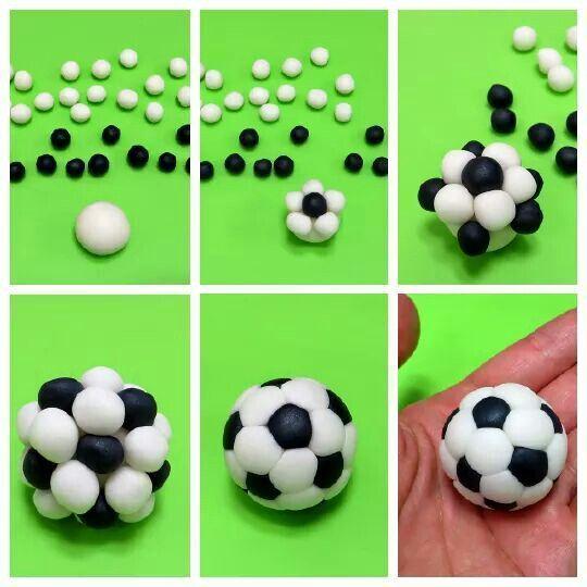 Как готовить торт футбольный мяч из мастики мастер класс