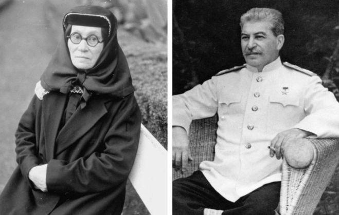 Мать Иосифа Сталина - Екатерина Георгиевна Геладзе. Она была крайне строгой и жестокой женщиной.