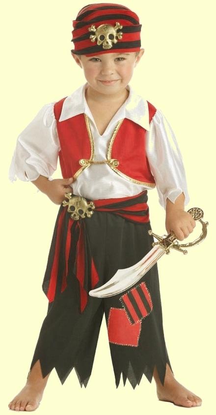 Новогодние костюмы для мальчиков своими руками пираты