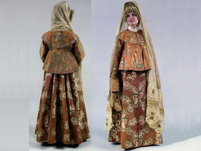 народный русский костюм