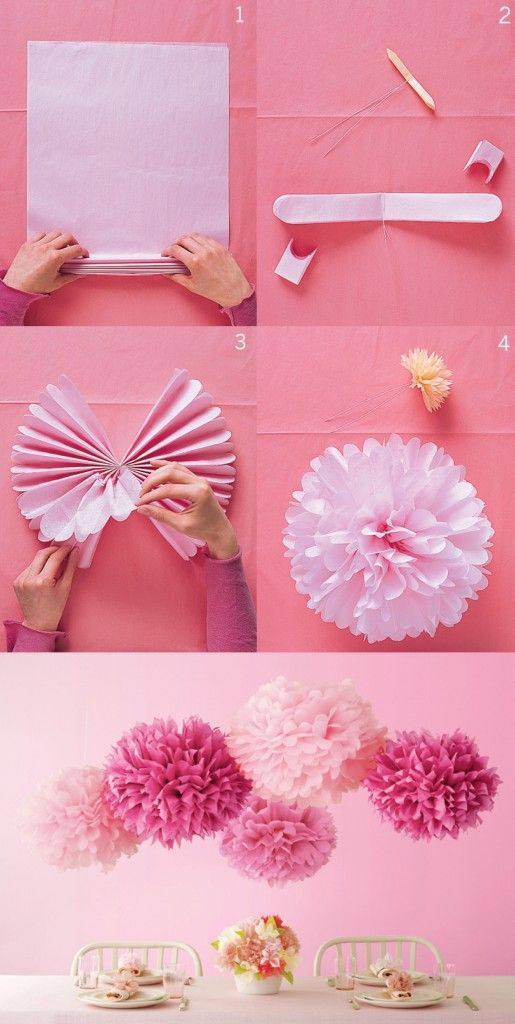 Как сделать цифру из бумаги или салфеток