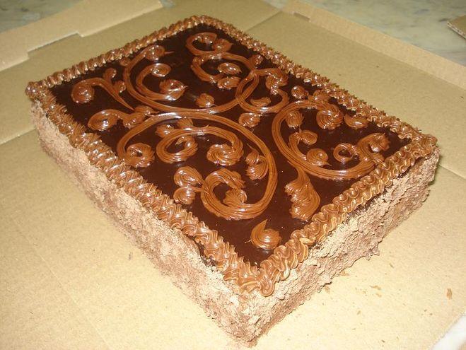 Торт квадратный в домашних условиях 301