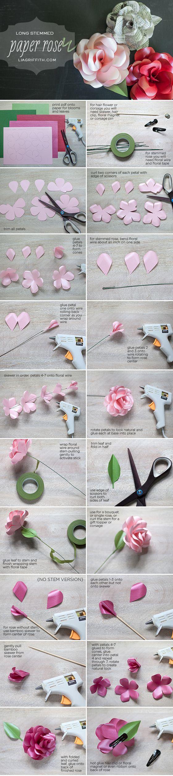 Как сделать цветок легко