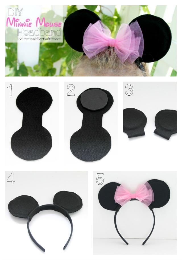 Как сделать мышки ушки