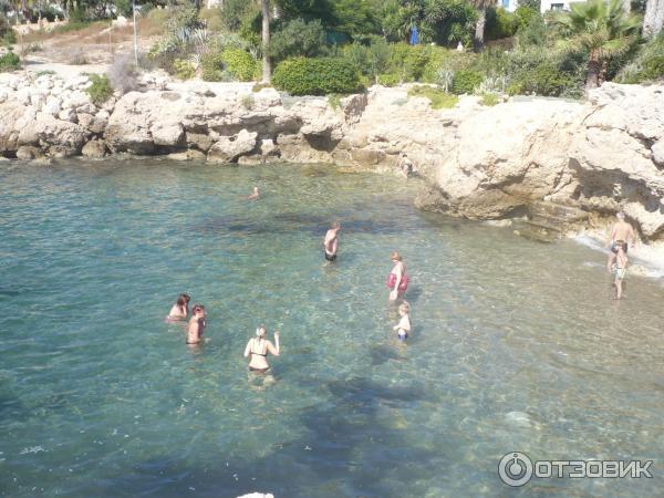Отель Акти Бич, Кипр, пляж