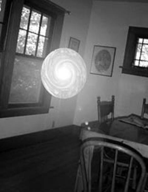 Фото шаровой молнии в доме