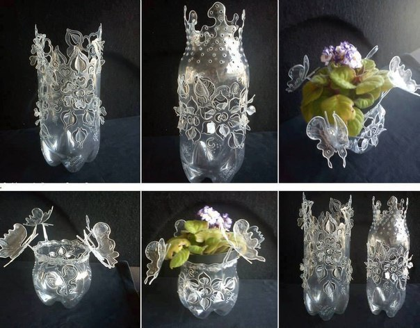 Как сделать круглую вазу