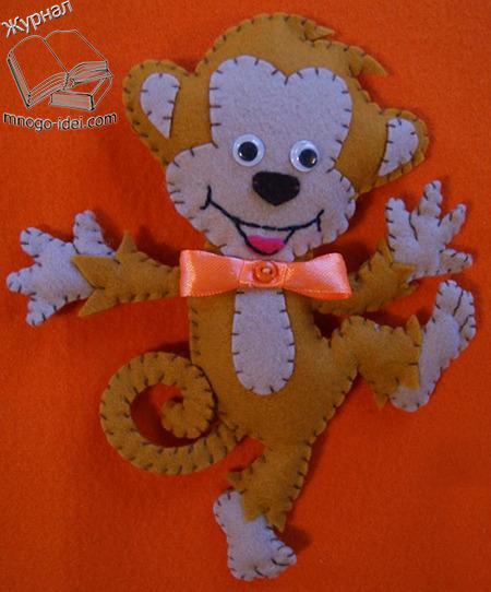Подушки игрушки обезьянки своими руками