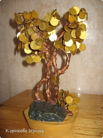 Как создать денежное дерево своими руками