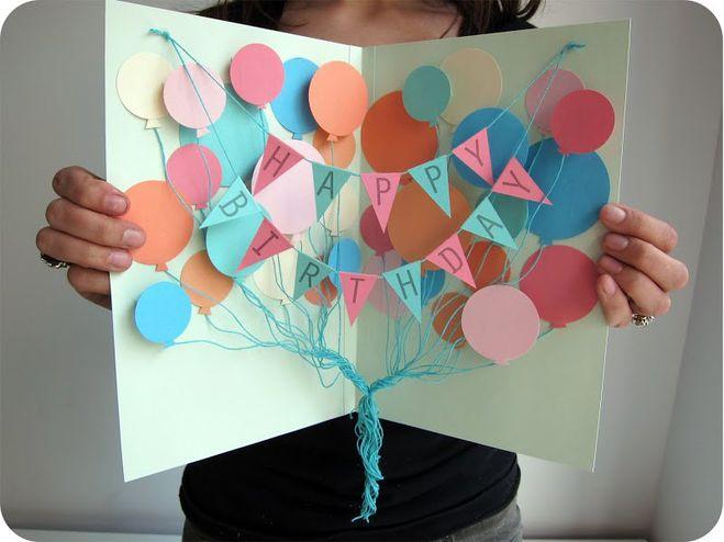 Как сделать открытку папе с днем рождения