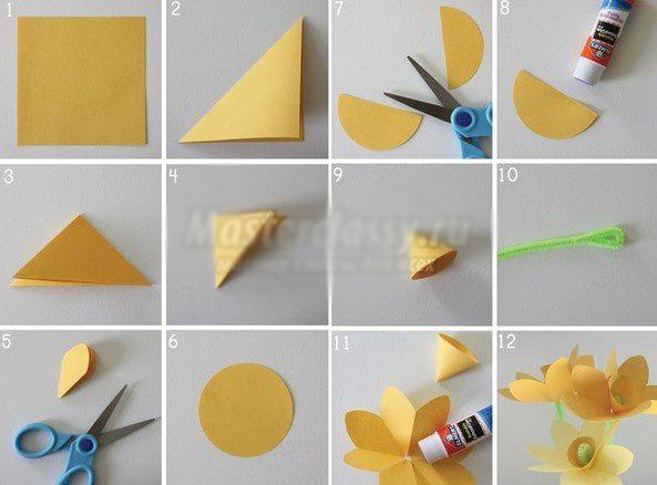 Из чего можно сделать цветы своими руками из бумаги