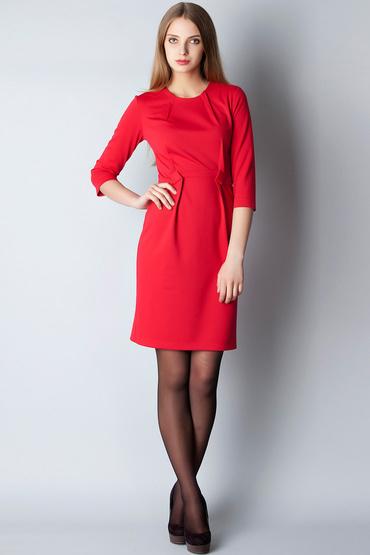 57405469fc2 С чем носить красное платье-футляр