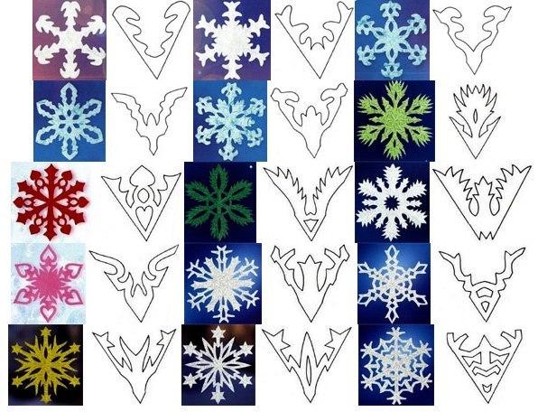 Смотреть как сделать снежинку