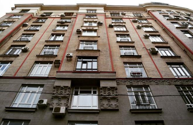 Первый высотный дом в Москве