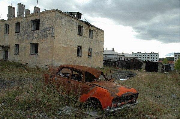 города призраки России, Кадыкчан