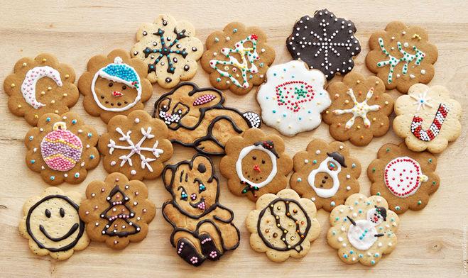 Как сделать печенье и украсить