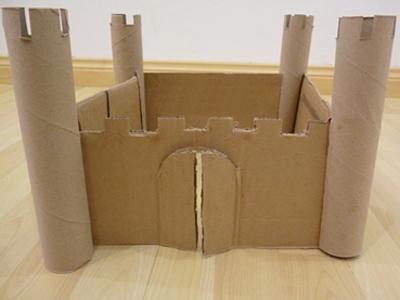 Как сделать замок своими руками из коробки