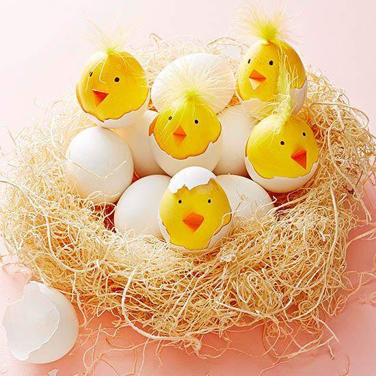 поделки со скорлупой яиц