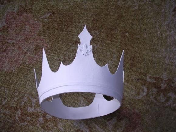 Как сделать красивую корону своими руками