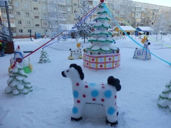 Как сделать снежную елочку