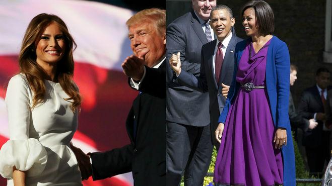 Мелания Трамп; Дональд Трамп; Красота; внешность