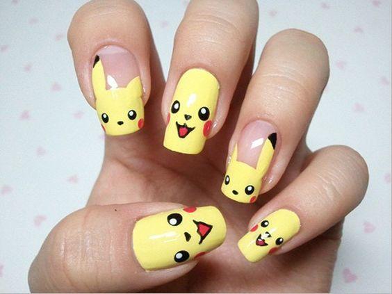 Прикольный рисунок для ногтей