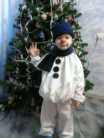 Самые простые новогодние костюмы своими руками