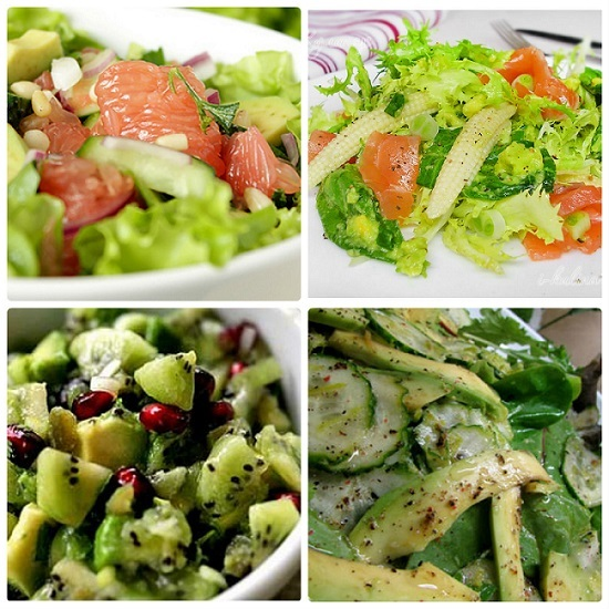 Салаты с авокадо и кукурузой рецепты 155