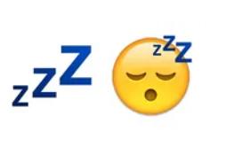 смайлик Zzz что означает