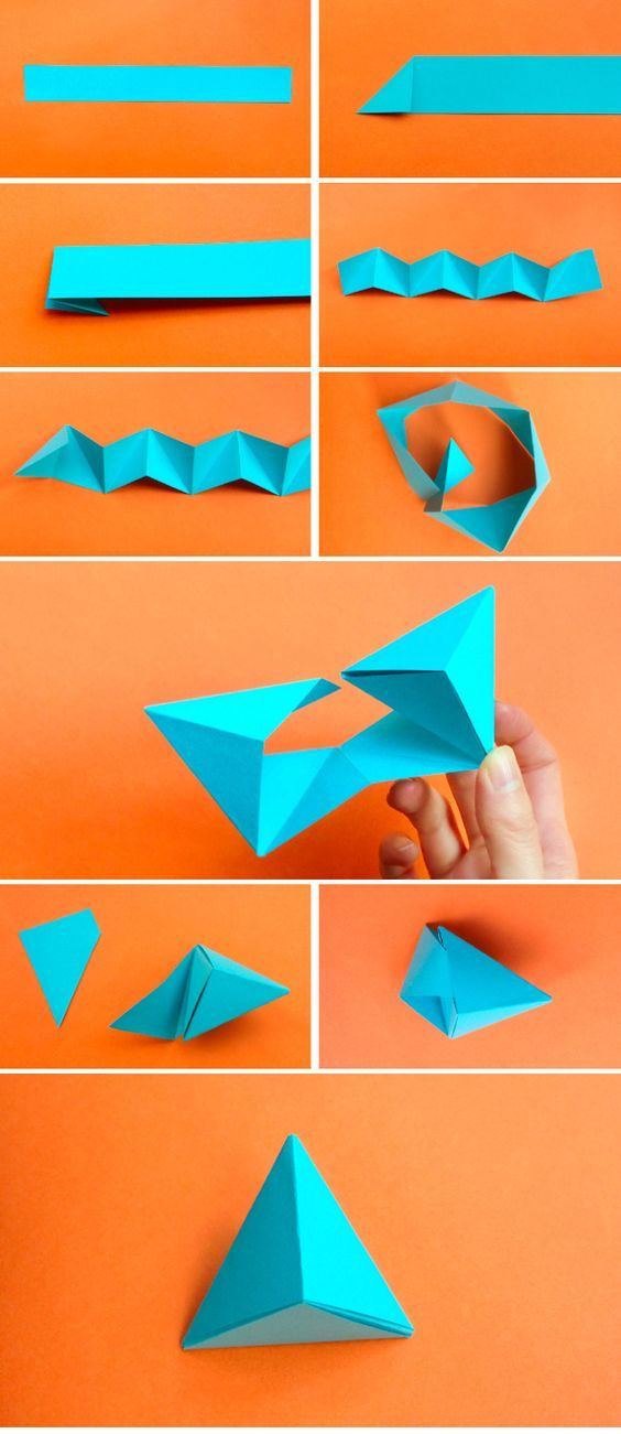 Пирамида оригами
