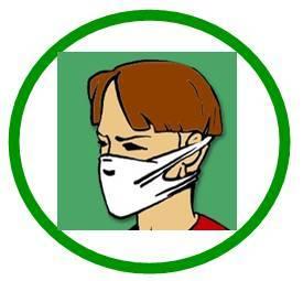 условные знаки, инфекция