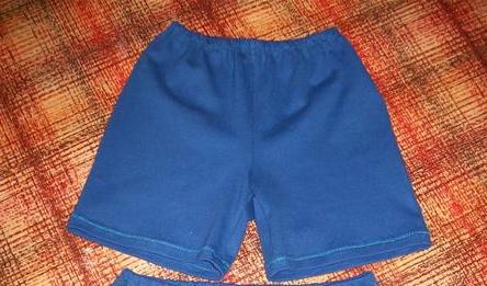 Как самому сшить шорты для мальчика 138