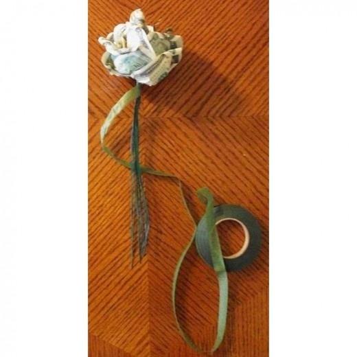 Как сделать цветок из денег своими руками фото 783
