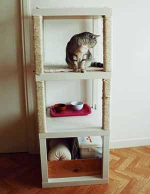 этажерка для кошки