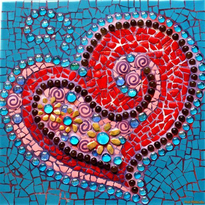 Рисунки для мозаики из битой плитки
