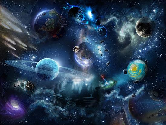 Космос будущего: как по иллюстрации написать сочинение-описание, 4 класс
