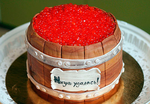 Торт своими руками на юбилей 25 лет