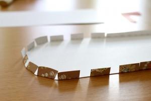 Как сделать бумажный бантик фото 102