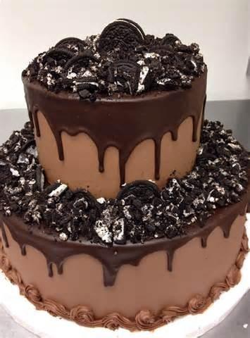 Как сделать торт с шоколадом сверху