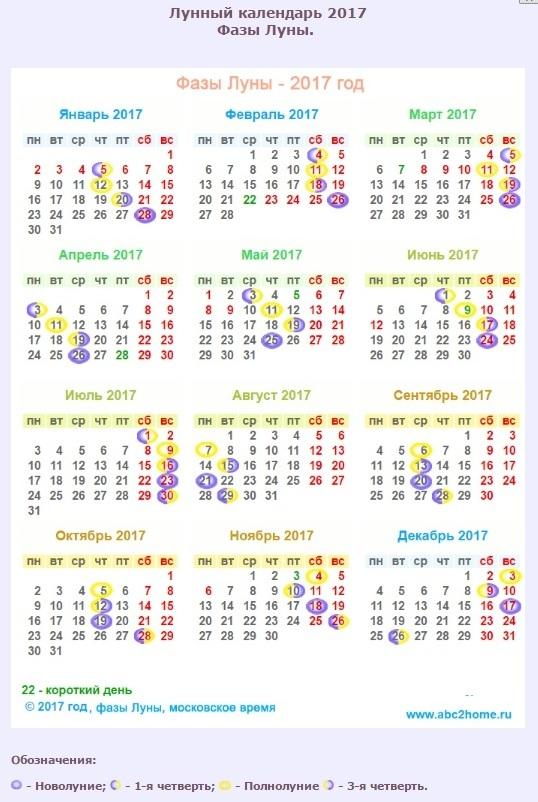 График стрижек на февраль 2017