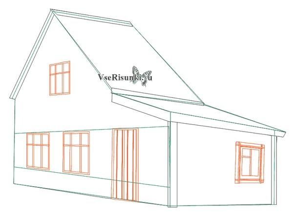 Как сделать дом поэтапно картинки 585