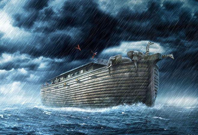"""цитатный план к рассказу """"Всемирный потоп"""