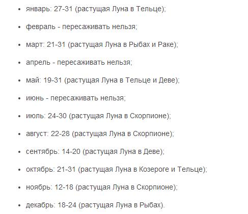 Косметические процедуры по лунному календарю на июнь 2016