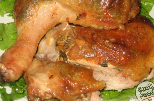 Рецепт куриных окорочков в духовке