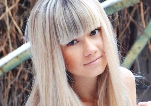 обнаженные фото девушек с милироваными волосами